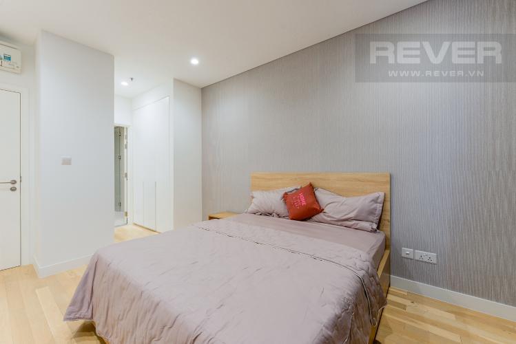 Phòng ngủ 1 Căn hộ City Garden tầng cao 2PN đầy đủ nội thất