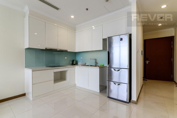 Nhà Bếp Căn hộ Vinhomes Central Park tầng cao, 1PN đầy đủ nội thất