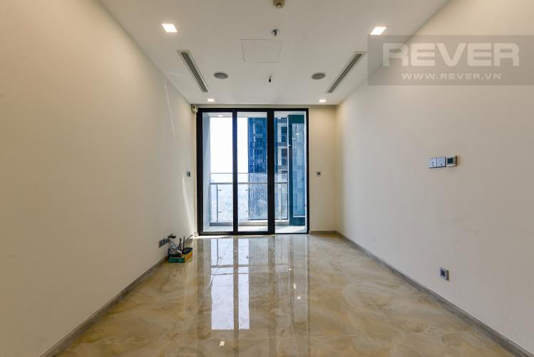 Phòng khách Căn hộ Vinhomes Golden River 1 phòng ngủ tầng cao A1 hướng Đông Bắc