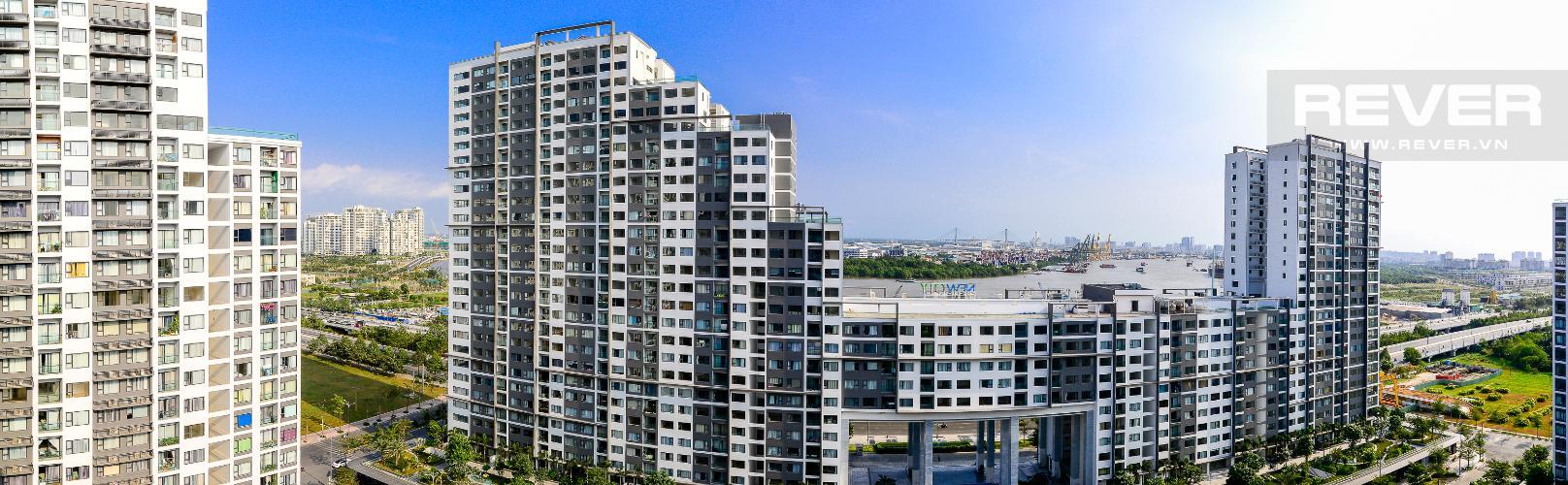 View Cho thuê căn hộ New City Thủ Thiêm 3PN 2WC, nội thất cơ bản, view hướng nội khu