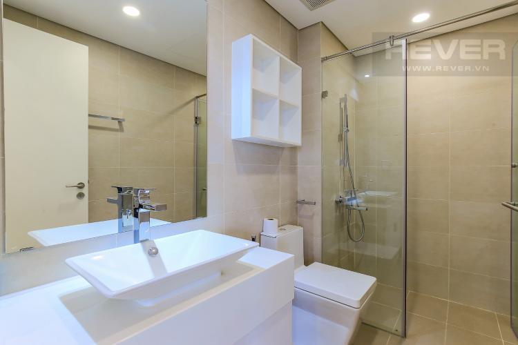 Phòng Tắm 2 Cho thuê căn hộ Masteri Millennium tầng trung 3PN đầy đủ nội thất, diện tích rộng rãi