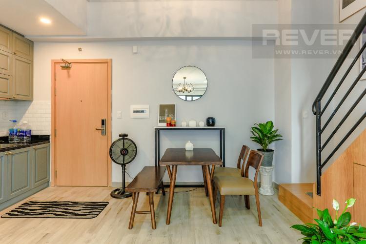 Phòng Ăn Và Lối Cầu Thang Căn hộ M-One Nam Sài Gòn tầng thấp tòa T2, 1 phòng ngủ, view sông
