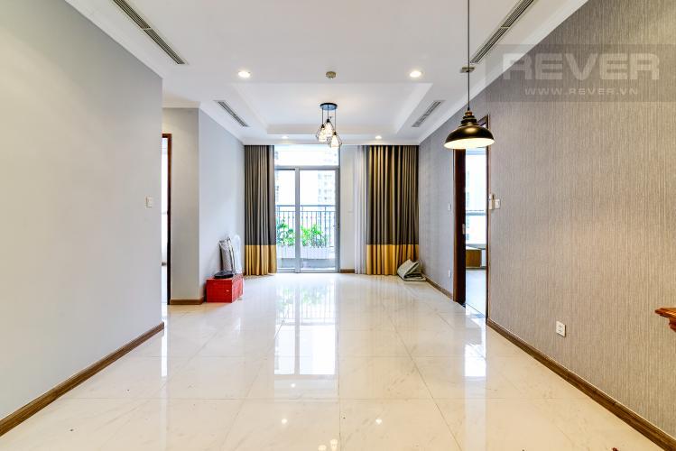 Phòng Khách Căn hộ Vinhomes Central Park 2 phòng ngủ tầng cao C2 nhà trống