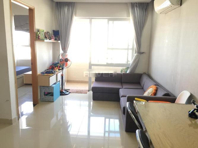 Căn hộ Saigonland Apartment tầng cao, đầy đủ nội thất hiện đại.