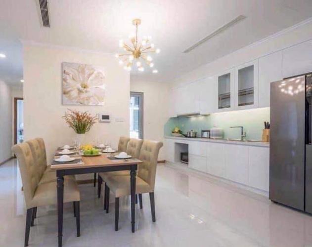 Cho thuê căn hộ Vinhomes Central Park 1 phòng ngủ, diện tích 54m2, đầy đủ nội thất