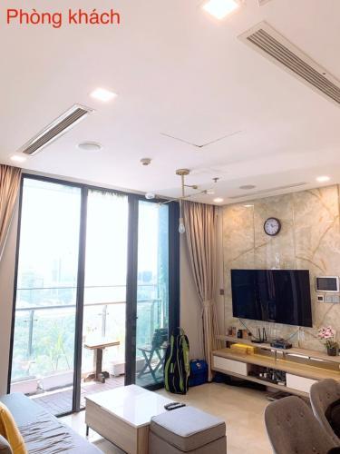 1 Bán căn hộ Vinhomes Golden River 2PN, tầng trung, đầy đủ nội thất, view sông và thành phố