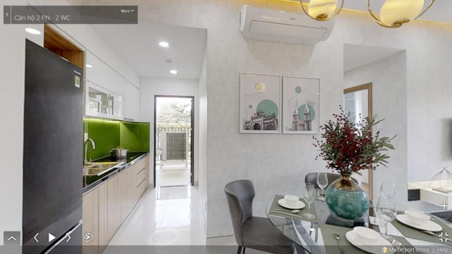 Bên trong dự án Picity Bán căn hộ Picity High Park tầng trung, 2 phòng ngủ, diện tích 57.6m2, nội thất cơ bản
