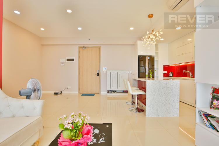 Phòng Khách Căn hộ Estella Heights 2 phòng ngủ tầng cao T2 nội thất mới