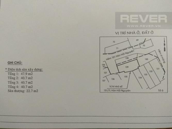 Thông Tin Chi Tiết Bán nhà phố đường Hàn Hải Nguyên 47.9m2, 4 tầng 6PN 4WC, nội thất cơ bản