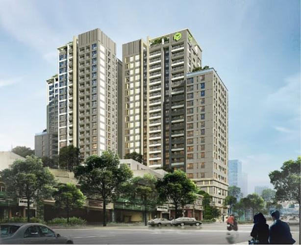 Kingston Residence, Phú Nhuận Căn hộ Officetel Kingston Residence ban công view Đông Nam.