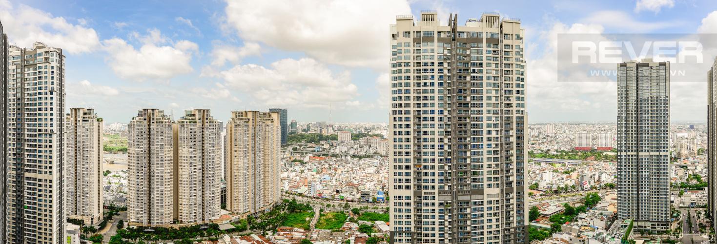 View Căn hộ Vinhomes Central Park tầng cao, tháp Park 6, 2 phòng ngủ, full nội thất