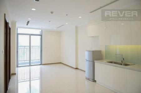 Bán căn hộ Vinhomes Central Park 1 phòng ngủ, tháp Landmark 3, nội thất cơ bản, view thành phố