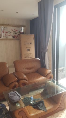 sofa phòng khách Căn hộ Vinhomes Grand Park 2 phòng ngủ ban công thoáng mát