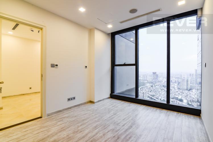 Phòng Ngủ Officetel Vinhomes Golden River 1 phòng ngủ tầng cao A1 nhà trống