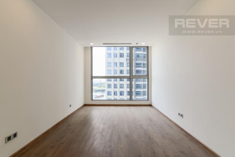 Phòng ngủ 3 Căn góc Vinhomes Central Park 4 phòng ngủ, nội thất cơ bản, view sông