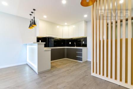 Bán căn hộ De Capella 2PN, block B, đầy đủ nội thất, tầng cao view thoáng