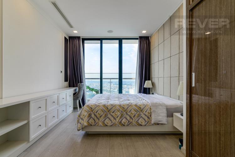 Phòng Ngủ 1 Căn hộ Vinhomes Golden River tầng cao, 3PN đầy đủ nội thất