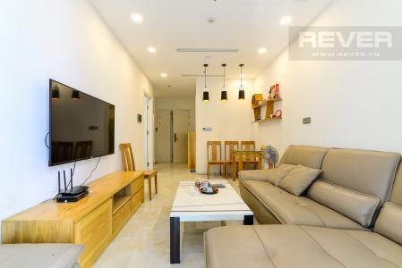 Cho thuê căn hộ Vinhomes Golden River 1PN, tháp The Aqua 1, đầy đủ nội thất, view sông Sài Gòn