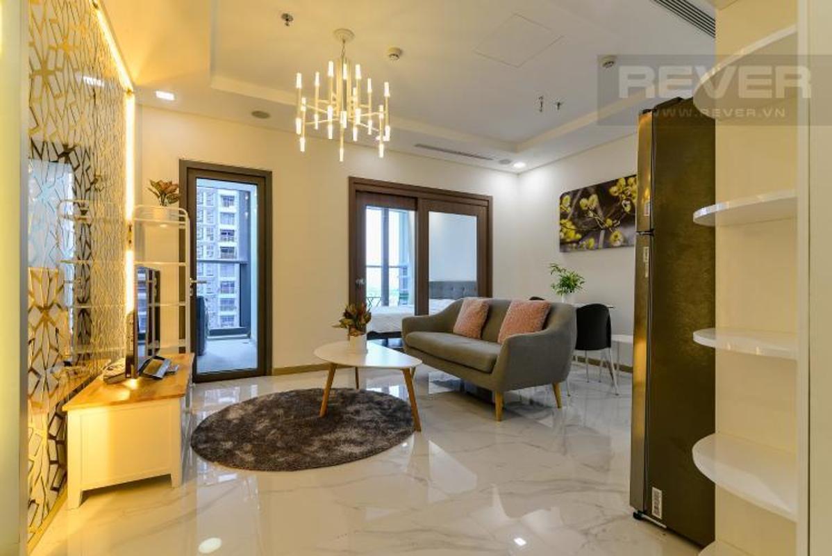 rryXFHtrTrCGHXs0 Cho thuê căn hộ Vinhomes Central Park 1 phòng ngủ, tháp Landmark 81, đầy đủ nội thất, view Xa lộ Hà Nội
