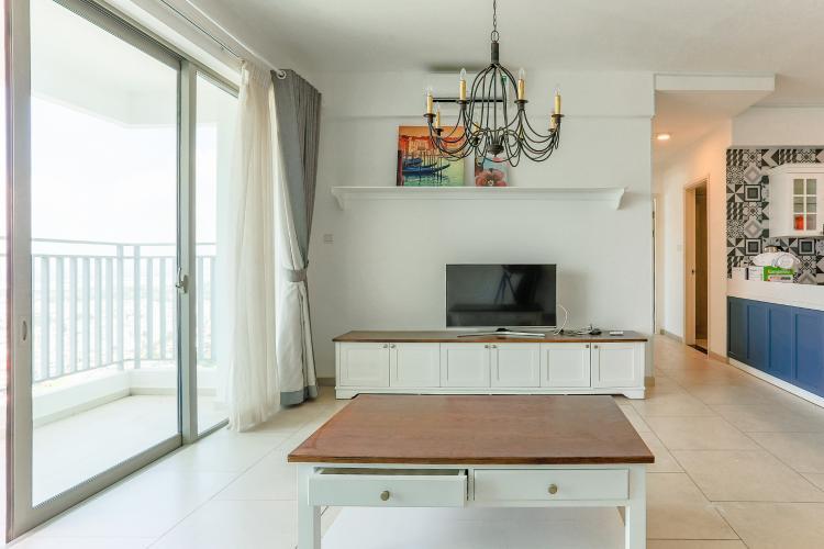 Căn hộ The View Riviera Point tầng cao, tháp T3, 2 phòng ngủ, full nội thất