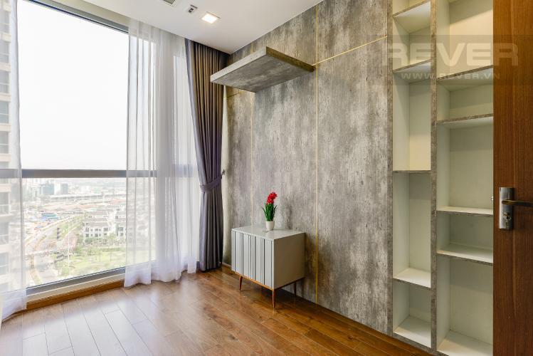 Phòng làm việc Căn hộ Vinhomes Central Park 3 phòng ngủ tầng trung P4 view sông