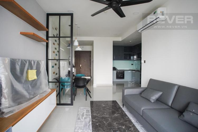 Cho thuê căn hộ Saigon Royal 2PN, tháp A, đầy đủ nội thất, view Bitexco và kênh Bến Nghé