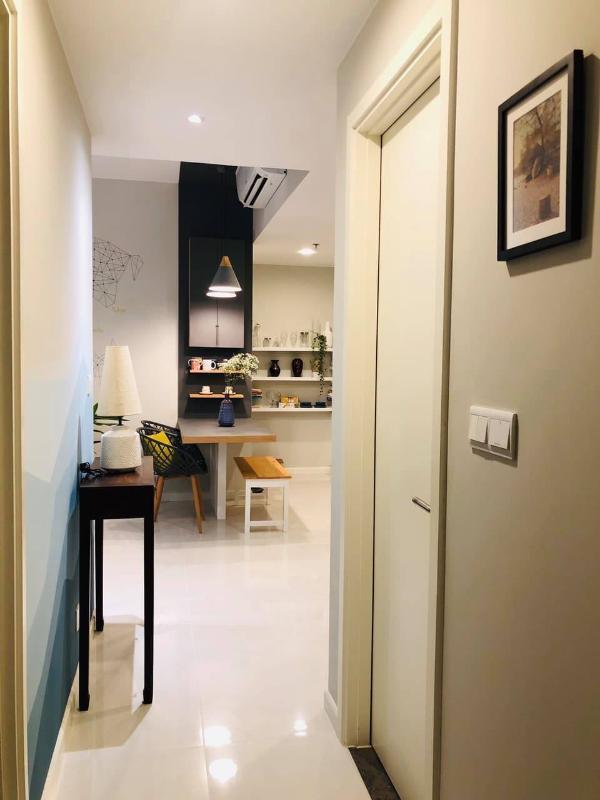 1 Bán căn hộ Masteri An Phú 2PN, tháp A, đầy đủ nội thất, ban công hướng Đông