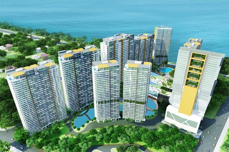 Building dự án Căn hộ La Casa tầng 08 cửa chính hướng Đông Bắc, view sông cực đẹp