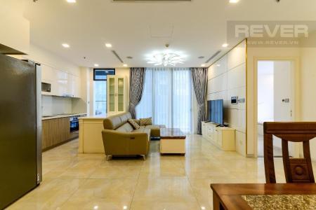 Cho thuê căn hộ Vinhomes Golden River 3PN, diện tích 98m2, đầy đủ nội thất, view thành phố