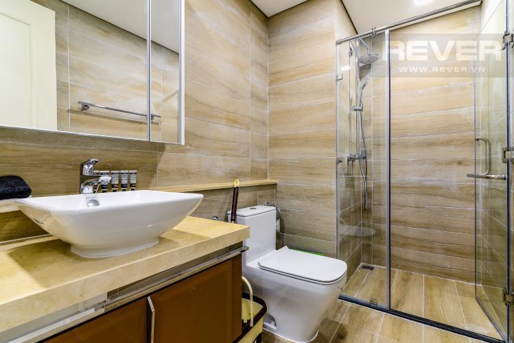 Phòng Tắm 1 Căn hộ Vinhomes Golden River 2 phòng ngủ tầng cao A3 nội thất đầy đủ