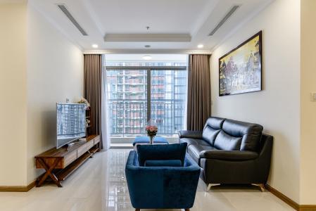 Căn hộ Vinhomes Central Park 4 phòng ngủ tầng trung L6 đầy đủ nội thất