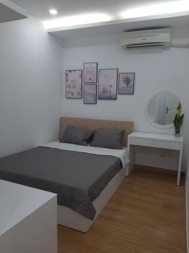Nội thất phòng ngủ căn hộ Sky Garden 3 Căn hộ Sky Garden 2 phòng ngủ thiết kế hiện đại, view thành phố.