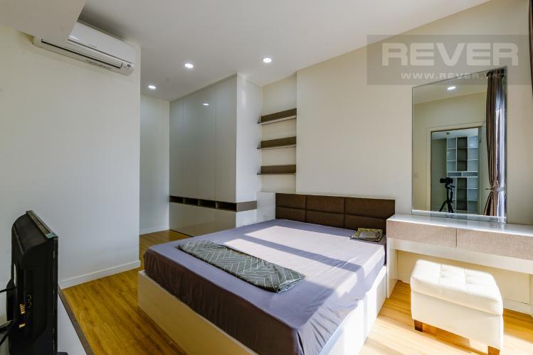 Phòng ngủ 1 Cho thuê căn hộ Masteri Millennium 2PN nội thất đầy đủ, tiện ích đa dạng