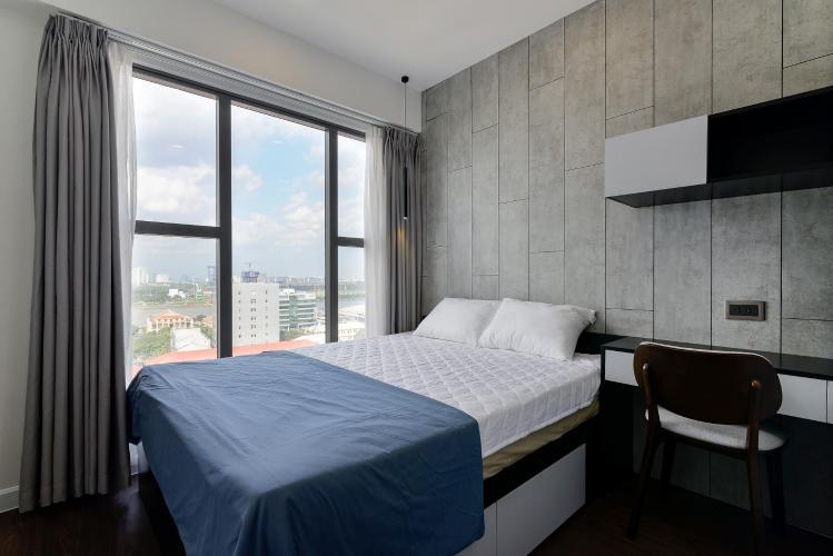 phòng ngủ Căn hộ Saigon Royal tháp A tầng cao 3 phòng ngủ, view hướng Bitexco.