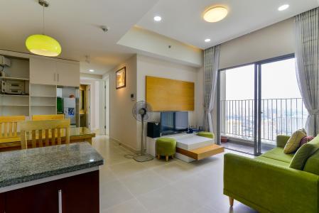 Cho thuê căn hộ Masteri Thảo Điền 2PN, tầng cao, đầy đủ nội thất, view khu dân cư rộng lớn