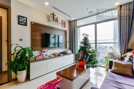 Căn hộ Vinhomes Central Park tầng cao, 2PN, đầy đủ nội thất