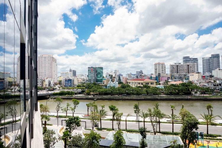 can-ho-VINHOMES-GOLDEN-RIVER Bán hoặc cho thuê officetel Vinhomes Golden River 2PN, đầy đủ nội thất, view kênh Thị Nghè và thành phố
