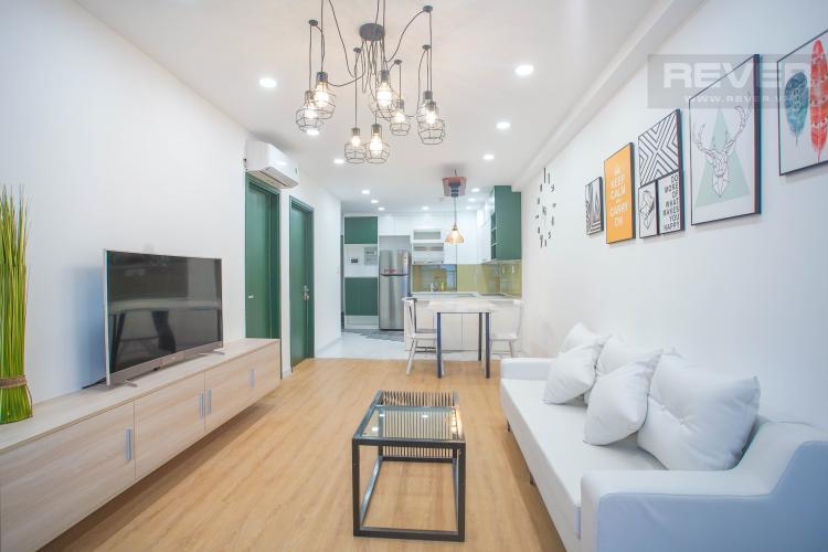 Phòng khách căn hộ SAIGON SOUTH RESIDENCE Bán căn hộ Saigon South Residence 2PN, diện tích 71m2, đầy đủ nội thất, view nội khu