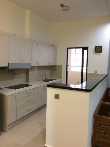 Phòng bếp Era Town Quận 7 Căn hộ Era Town tầng thấp, ban công rộng rãi, đầy đủ nội thất.