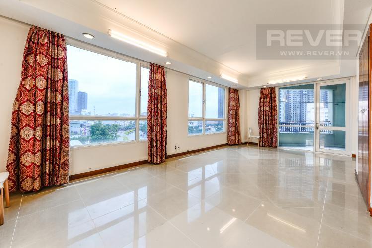 Phòng khách Căn hộ The Manor tầng thấp, tháp Manor 1, 3 phòng ngủ, view thành phố