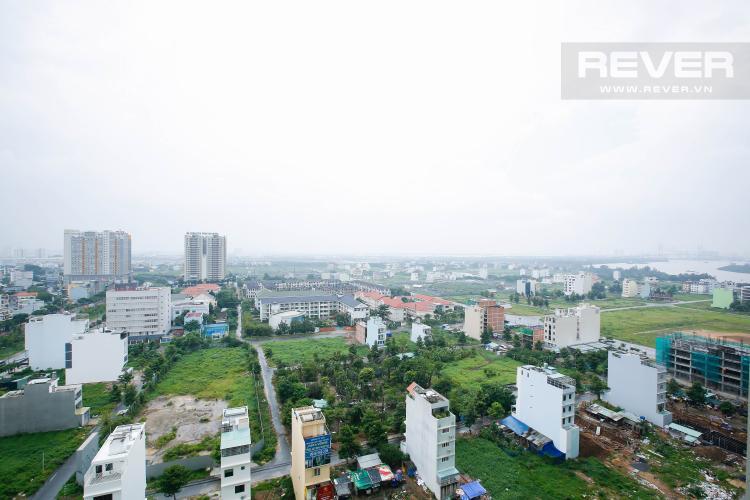 View Căn hộ Vista Verde 1 phòng ngủ tầng trung T1 hướng Đông Nam