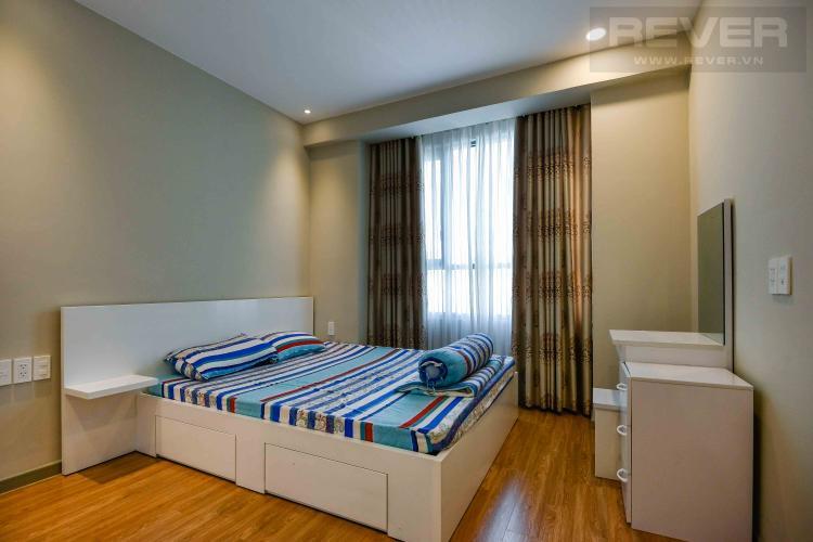 Phòng ngủ căn hộ THE GOLD VIEW Căn hộ The Gold View 2 phòng ngủ, tầng 23, đầy đủ nội thất