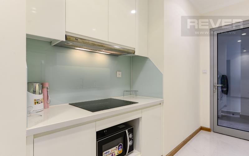 Bếp Căn hộ Vinhomes Central Park 3 phòng ngủ tầng cao L1 nội thất đầy đủ