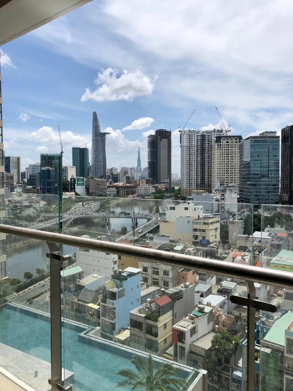 071c972ad56633386a77 Bán căn hộ Masteri Millennium 2PN, block B, đầy đủ nội thất, view hồ bơi và Bitexco