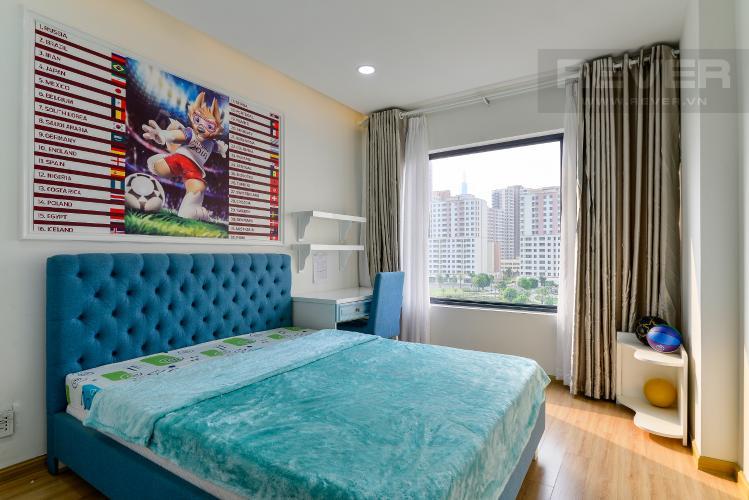 Phòng Ngủ 2 Cho thuê căn hộ New City Thủ Thiêm tầng thấp tháp Babylon, 3PN 2WC, đầy đủ nội thất, view cây xanh mát mẻ