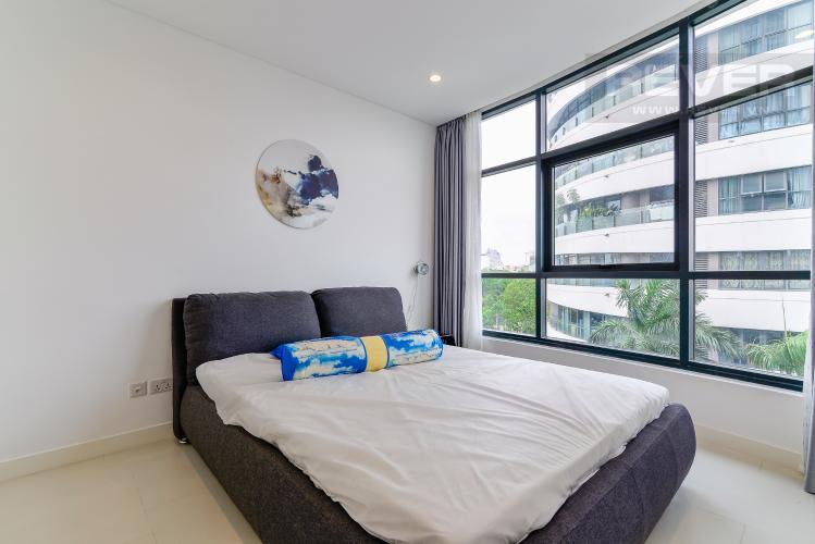 Phòng Ngủ 2 Bán hoặc cho thuê căn hộ City Garden 100m2 2PN 2WC, view nội khu, nội thất cao cấp