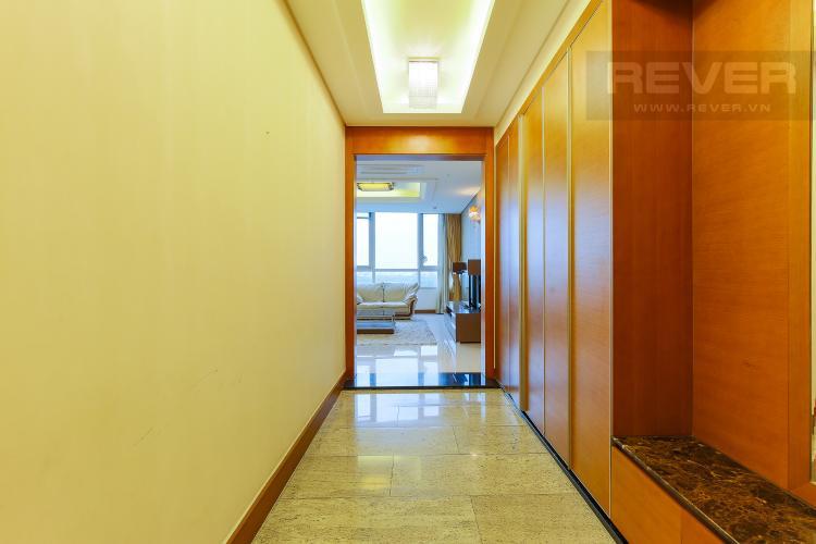 Lối Vào Căn hộ Xi Riverview Palace 3 phòng ngủ tầng trung block 101 nội thất có sẵn