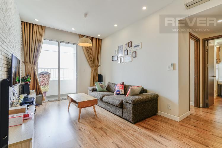 Phòng Khách Căn hộ  Lexington Residence 2 phòng ngủ tầng thấp LA đầy đủ tiện nghi
