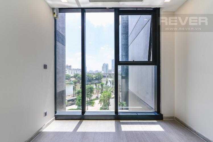 Phòng Ngủ Officetel Vinhomes Golden River 1 phòng ngủ tầng thấp A2 view sông