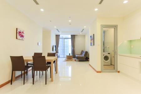 Căn hộ Vinhomes Central Park tầng trung 2 phòng ngủ, nội thất đầy đủ, thiết kế đẹp